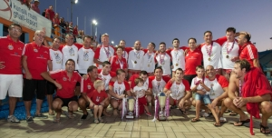 Neptunes Grimaldi are the BOV Water Polo Premier League Champions for 2014