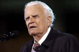 Billy Graham, famous Christian evangelist, dies aged 99