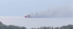 [WATCH] Maltese oil tanker catches fire near Cyprus