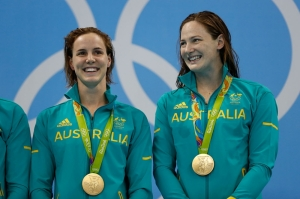 Campbell sisters strike historic gold