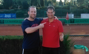 Mark Gatt reaches singles semi-finals and two doubles finals on the Senior Tennis Tour