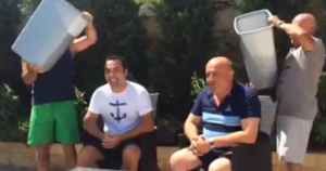 [WATCH] Even Charles Polidano gets wet in the ALS Ice Bucket Challenge