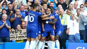 Pedro and Eden Hazard maintain Chelsea's 100% start