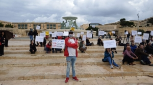 COVID-sceptics hold Valletta protest to 'question science behind vaccine'