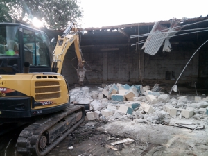 Maltreated animals discovered at illegally built factory extension