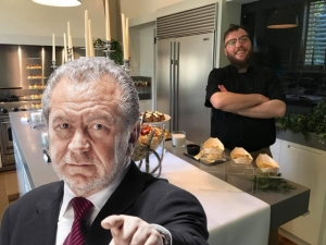 [WATCH] BBC's The Apprentice makes Malta debut, and chef David Darmanin earns Lord Sugar's OK