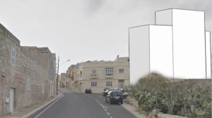 Traditional Dingli entrance threatened by five-storey block
