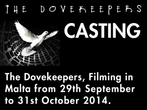 Casting call: The Dovekeepers