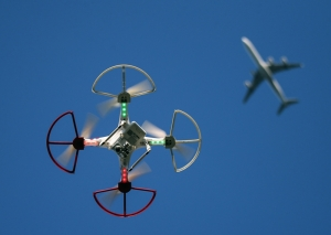 Airline pilots uneasy about sharing skies with drones