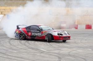 Another win for drifting champion Andrea Fabri