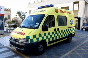 Kirkop farmer hospitalised