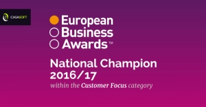 CasaSoft is national champion in European Business Awards