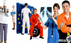 Pandemic year saw EU nationals leave, non-EU workers increase