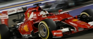 Vettel storms to Singapore pole for Ferrari