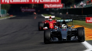 Hamilton untouchable at Spa-Francorchamps