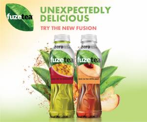 Fuzetea Zero celebrates surprising fusions that are unexpectedly delicious with Zero Calories