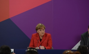 Merkel on Trump: Terrorism not an excuse for discrimination