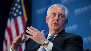 Donald Trump sacks US Secretary of State Rex Tillerson