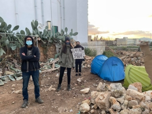 Graffitti activists resume protest in Dingli as IM pushes ahead with controversial road