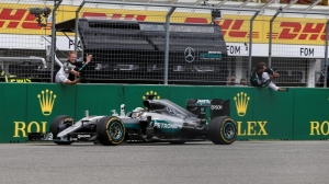 Hamilton extends championship lead with victory in Germany