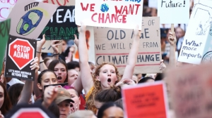 Students strike for climate change, defying calls to stay in school