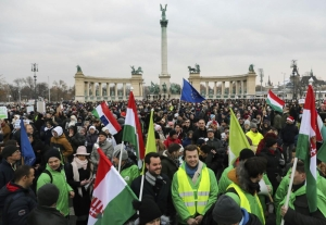 Hungary's opposition plans more protests after 'slave law' passes