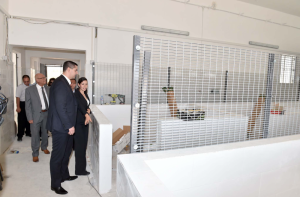 Infrastructure minister visits works on new Association for Abandoned Animals sanctuary