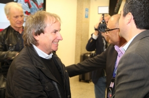Chris de Burgh arrives in Malta ahead of solo concert
