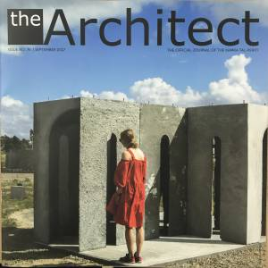 The Architect, official magazine of Malta's Chamber of Architects, free with MaltaToday