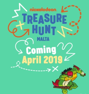 The Nickelodeon Treasure Hunt is coming to Malta next year