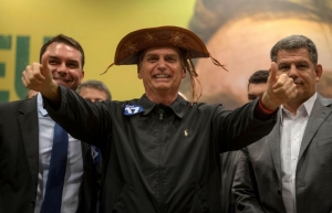 Far-right congressman Jair Bolsonaro wins Brazil presidential election