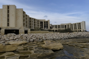 Owners of abandoned Jerma hotel have to clear the mess but building may stand
