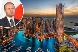 Joseph Muscat fits in three-day Dubai break with family amid political crisis
