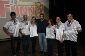 Joseph Calleja joins The Comedy Knights on stage
