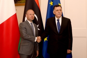 Libyan prime minister in Malta to 'clarify' state of conflict threatening Tripoli
