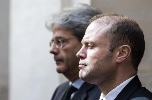 Muscat meets Gentiloni in final stop of six-European-capital tour