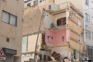 In Malta buildings had to collapse before governments took action