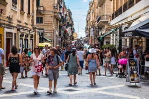 Malta with largest population increase in EU