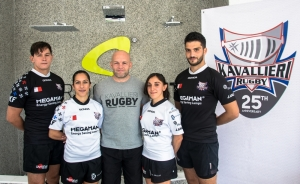 Kavallieri Rugby launch new stylish kits