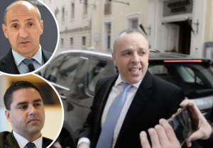 [WATCH] Ministers Chris Fearne and Ian Borg justify Keith Schembri's actions