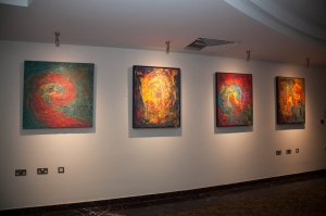 Le Meridien hosts first solo art exhibition