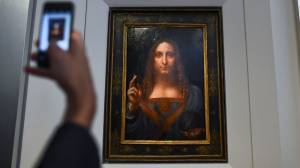 Leonardo Da Vinci painting depicting Christ to be exhibited at Louvre Abu Dhabi