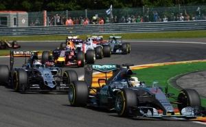 Hamilton wins at Spa as Lotus return to podium