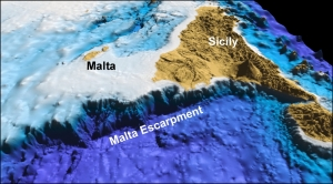University expedition to explore giant underwater cliff offshore Malta