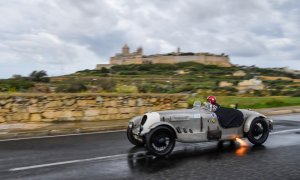 Watch Malta's finest collection of classic cars race around the medieval walled city of Mdina