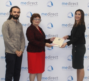 MeDirect Bank Malta receives the NCPE equality mark certification