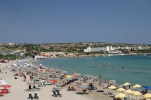 Maltese sea temperature rises by 0.2°C during August