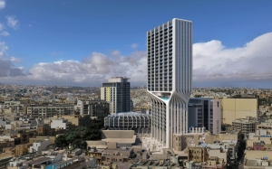 Second Mercury House tower: hotel and apartments to generate 1,000 car trips