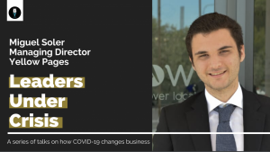 HR measures have been key in COVID-19 changeover – Yellow Pages' Miguel Soler