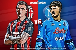 The Partenopei face the Rossoneri in this nail-biting face-off